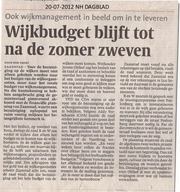 2012-07-20%20NHDagblad%20Bezuiniging%20op%20wijkbudget%20uitgesteld
